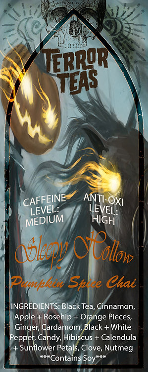 Sleepy Hollow Pumpkin Spice Chai Tea - 50 Grams
