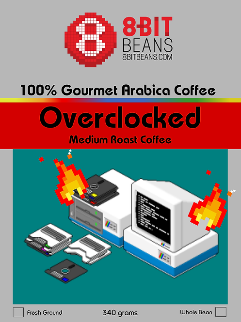 Overclocked Extra Caffeinated 12oz. Wholesale