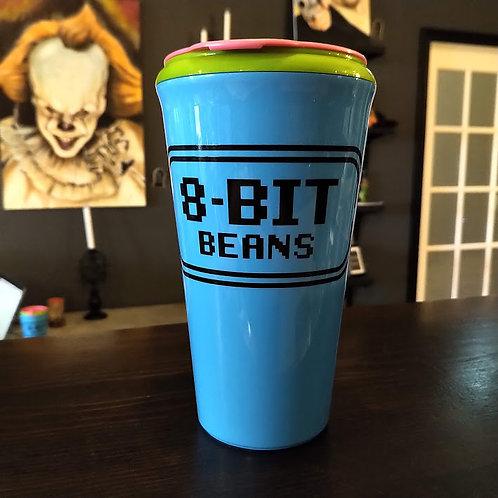 8-Bit Beans 16oz. Travel Tumbler Wholesale