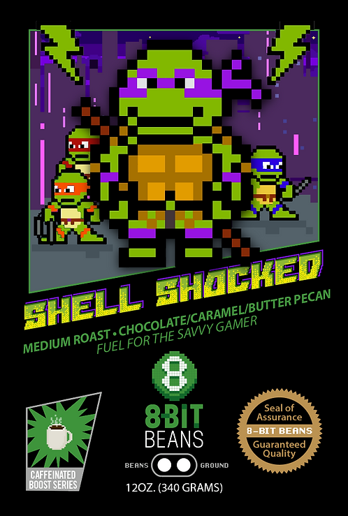Shell Shocked - Chocolate, Caramel and Butter Pecan - 340 grams