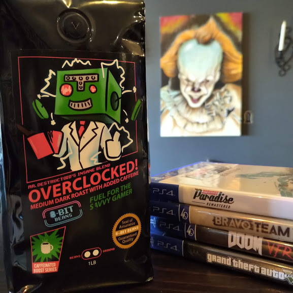 Overclocked extra caffeinated coffee