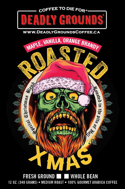 Roasted Christmas - Orange Brandy, Maple and Vanilla 340grams
