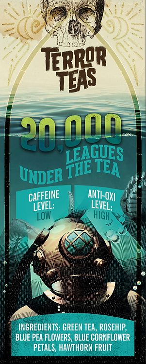 20,000 Leagues Under the Tea - Flavoured Green Tea - 50 Grams