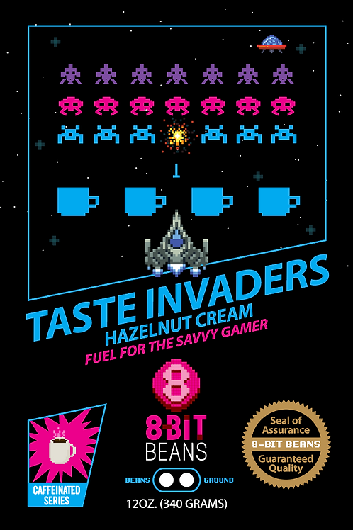 Taste Invaders - Hazelnut Vanilla Cream 340 grams
