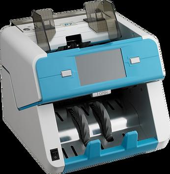 Plus Banking Machine One Pocket Front Open Type Currency Discriminator, 프러스상사 원포켓 지폐계수기, P7