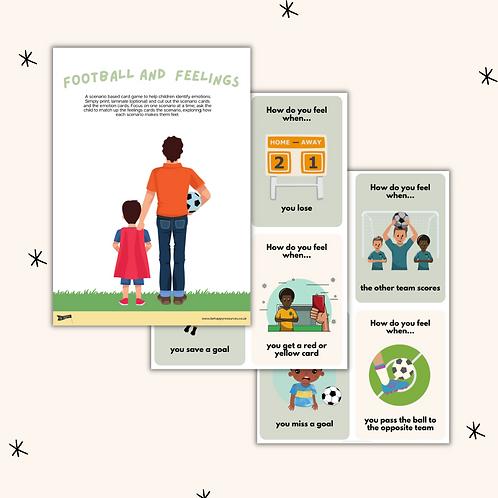 Football and Feelings - Scenario Based Flashcard Game