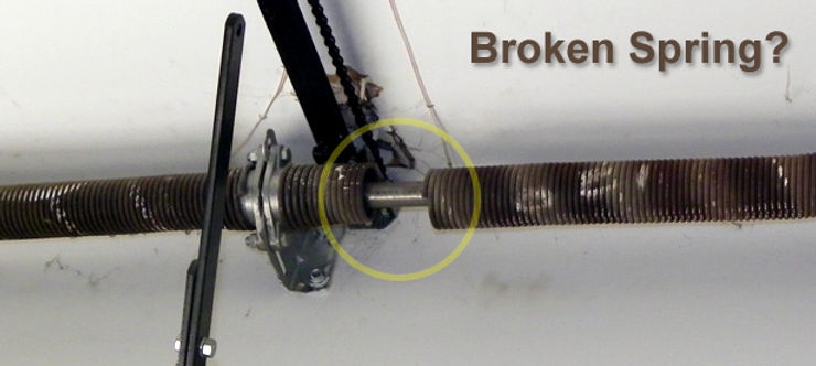 Broken Garage Door Spring Repair