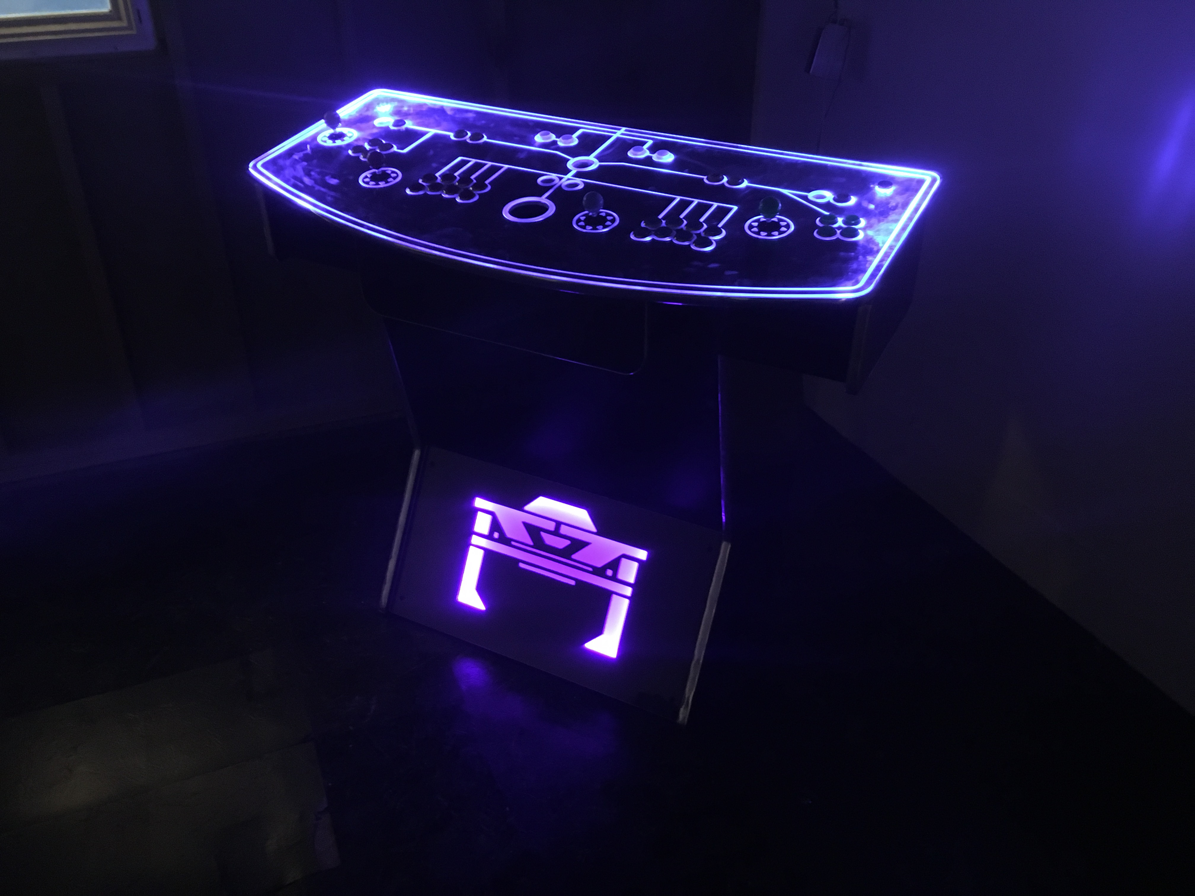 4 Player Pedestal Arcade | Pacific Play Arcades