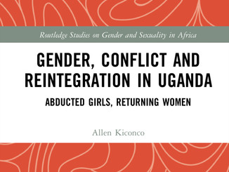 Congratulations to Dr Allen Kiconco on her new book!