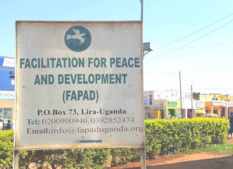 Early Stage Researcher completes secondment at FAPAD, Uganda
