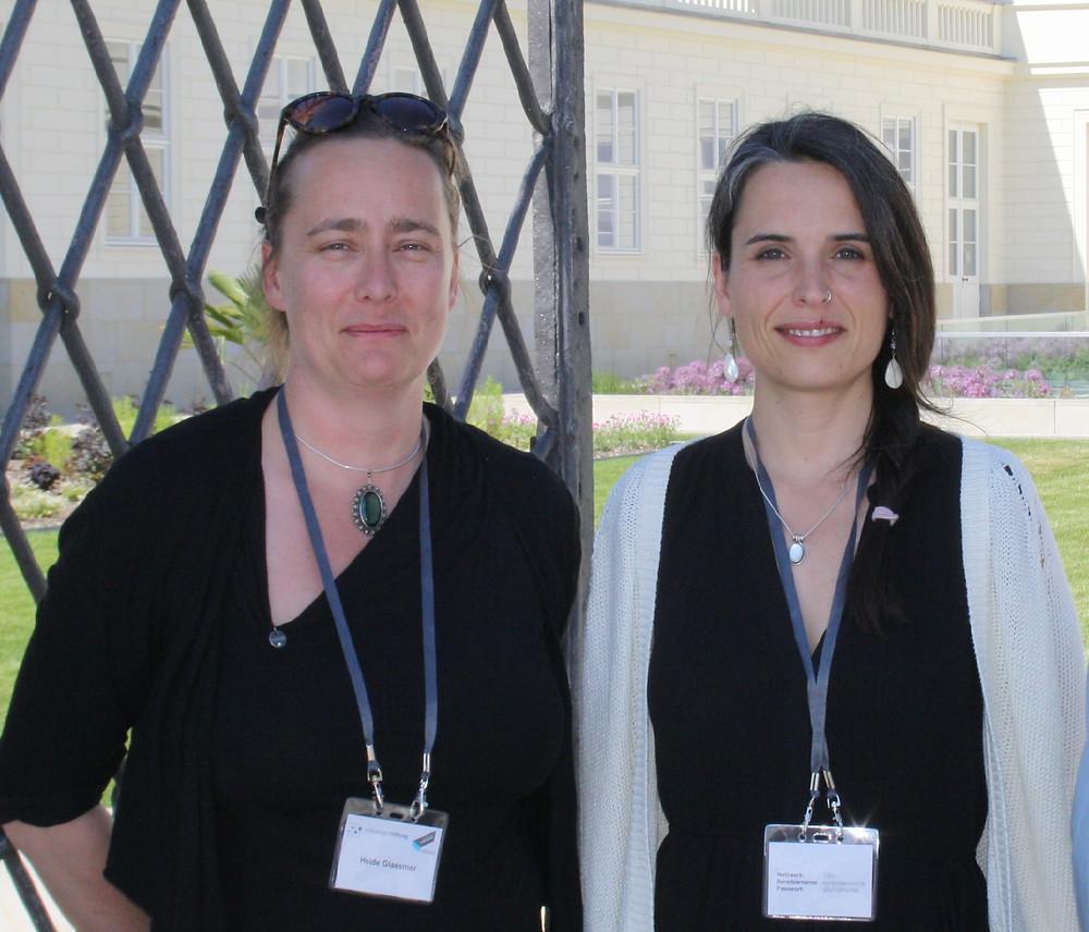 Marie Kaiser and Heide Glaesmer