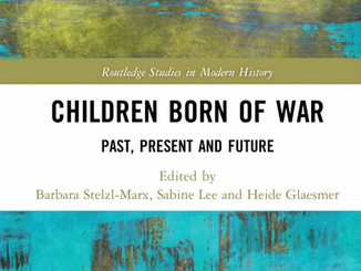 'Children Born of War: Past, Present and Future' is now published!