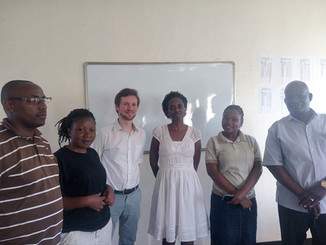 Early Stage Researcher presents at Uganda Christian University in Kampala
