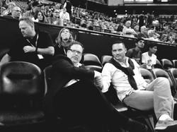 October 2014- NBA Pre-Season Games.