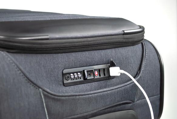 CANDADO TSA CON PUERTO USB