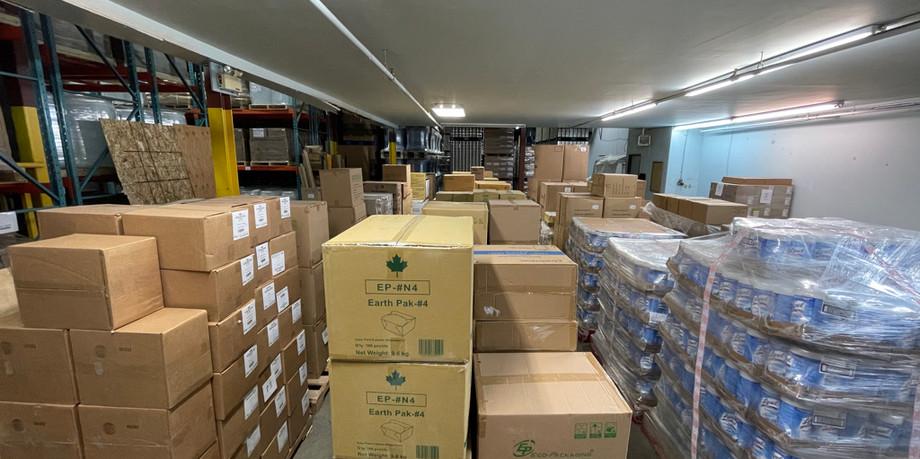 Bin and bulk storage