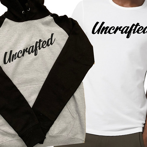 Hoodie & T-Shirt - Uncrafted Bundle