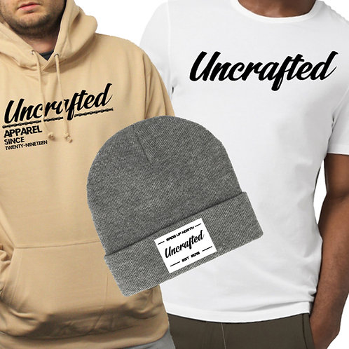 Hoodie, T-Shirt & Beanie - Uncrafted Bundle
