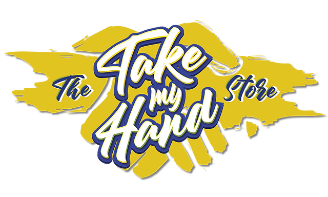 The Take My Hand Store, Take My Hand, logo, mental health, awareness, message to self