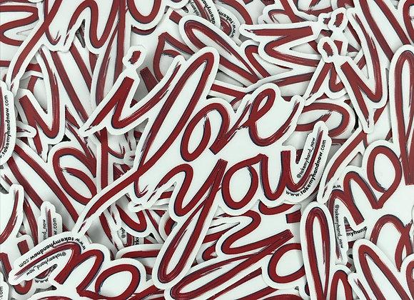 message to self die-cut sticker bundle
