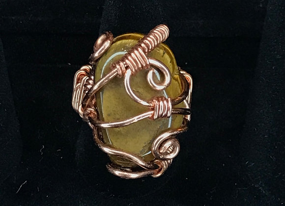 Wrapped Tiger's Eye Ring, Courtesy of One Thirty One