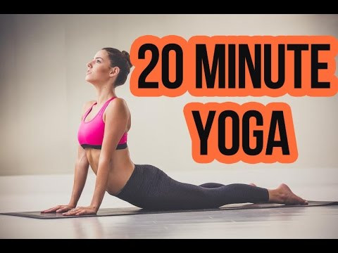 Got 20 Minutes? You can do Yoga with me...