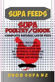 SUPA CHOOK - Complete Natural Layer Feed 10kg - 20kg