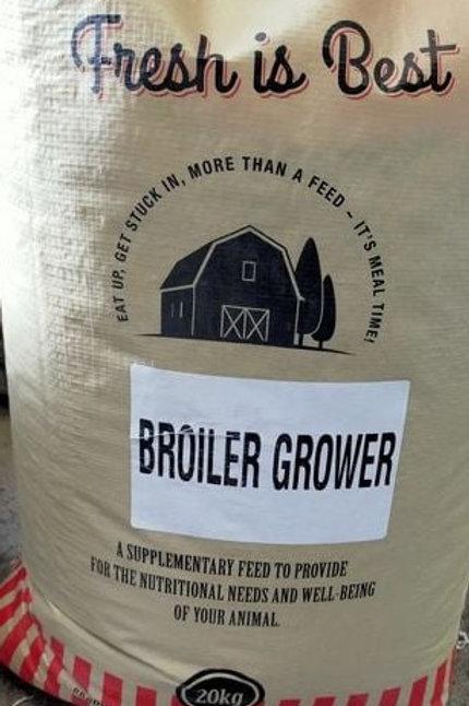 Meal Time Broiler Grower 19.5%   20kg