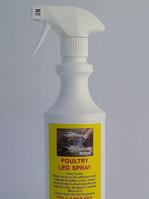Organic Poultry Scaly Leg Spray.
