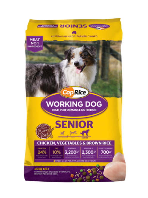 CopRice Working Dog Senior