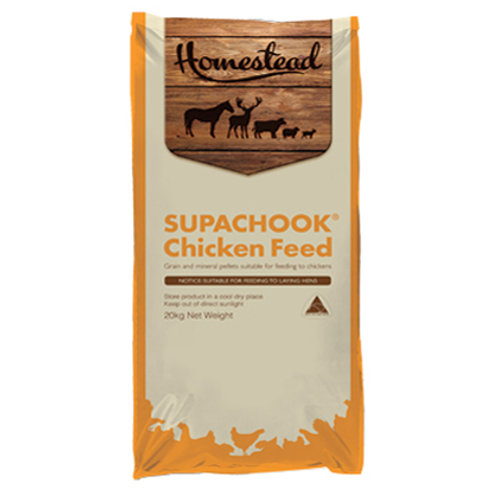 Homestead SupaChook Chicken Feed 20 kg