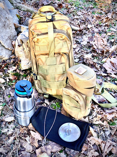 "Ken Ten 3 Day pack with ""Solo"" mess kit"