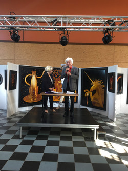 Montillot Arts' show (F)