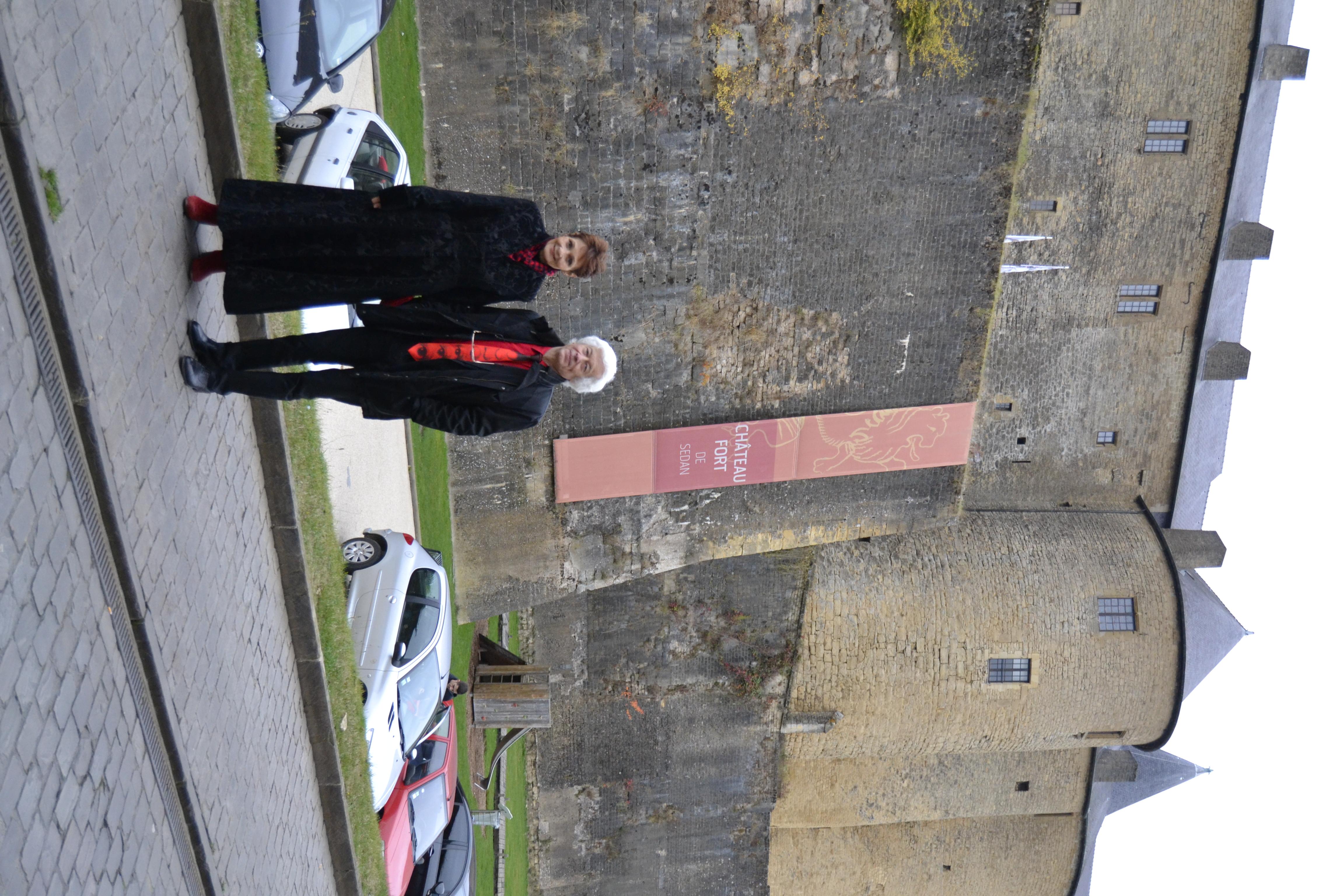 Sedan (F) - Fortified castle
