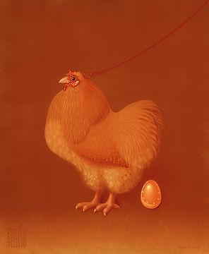 Kandl la poule_oeufs_or.jpg
