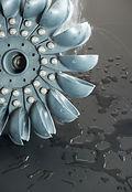 Pelton Water Turbine blade