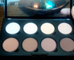 Contouring a round face using the Nyx Contour Palette