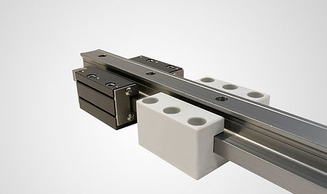 Linear Rails_Guide Carriages with Backgr