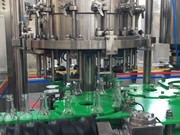 Guides and shifting elements for bottling facilities