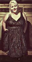 Vintage Glam: Dress from Cherry Velvet