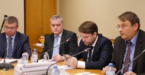 "PLASTMASS GROUP AT ""THE ROUND TABLE"" MEETING IN THE STATE DUMA"
