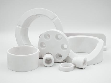 Vorteile von PET Kunststoffen für den Maschinenbau.