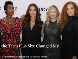 How Accepting the Term Plus Size Changed My Life..Teen Vogue