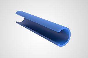 Plastic Round Bar Cover