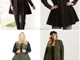Faux Leather Sleeve Long Military Coat. A+++