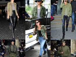 Trend Alert, Green Army Jackets!