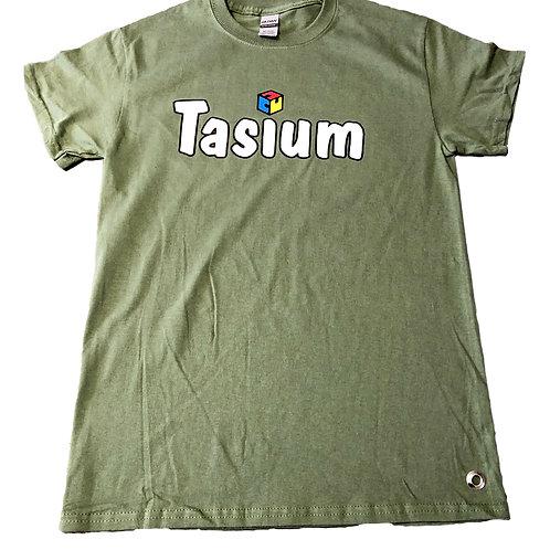 Olive Green Fidget Infused T-Shirt
