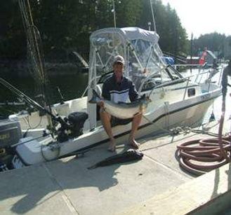 Large Salmon, Fishing Charter