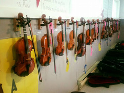 Fiddle Wall