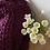 Thumbnail: Švestková merino deka